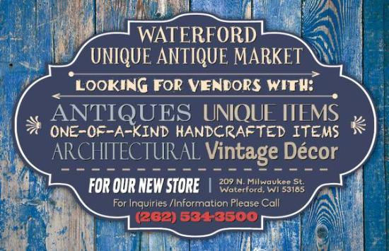 Waterford Unique Antique Market