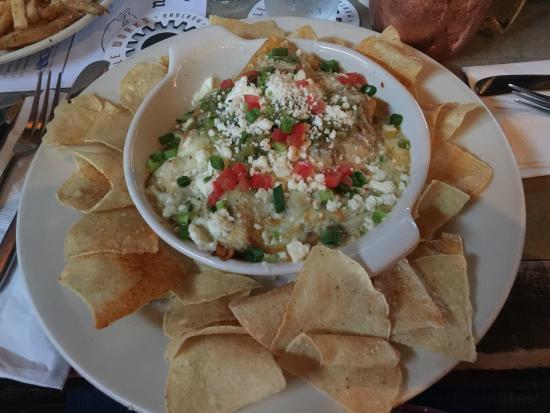 Montana Ale Works: Chicken Enchiladas