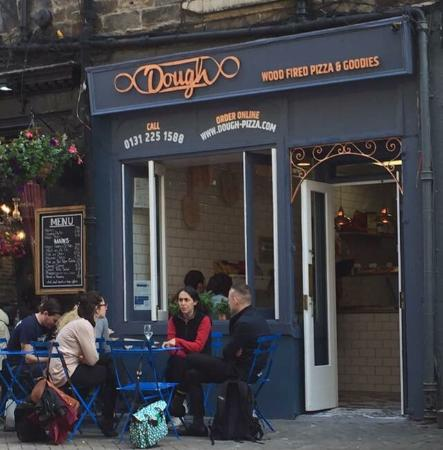 Italian Street Food Pizza Slice Bar Restaurant Edinburgh Scotland.