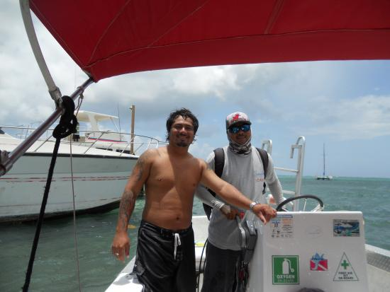 Ambergris Museum & Cultural Center: The very best dive guide and boat captain