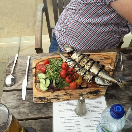 The Anchor Inn at Seatown: Fresh catch of the day