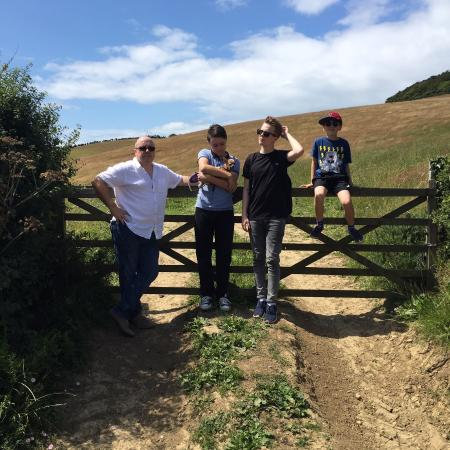 Hell Barn Cottages : Walk to seatown from chideock