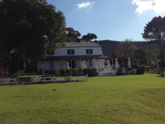 Belvidere Manor: Main house