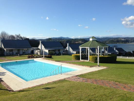 Belvidere Manor: Pool area