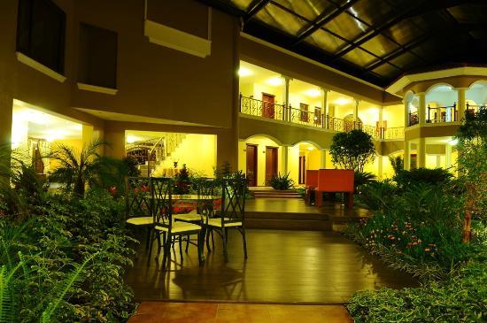 Casa Real Hotel & Spa: Jardin Interno