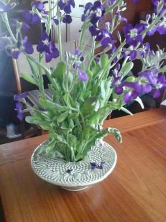 Mineral Point, WI: Ikebana vase