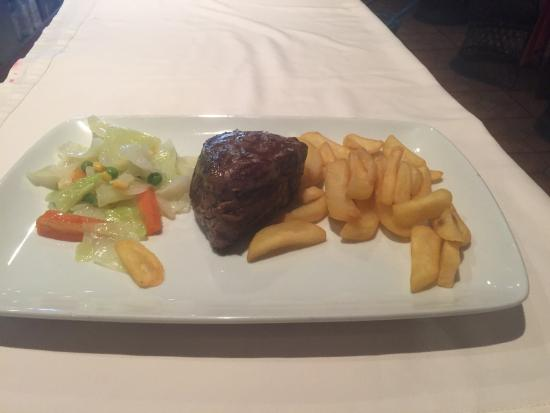 Restaurante Dominique's Fuengirola: Fillet steak. Wonderful