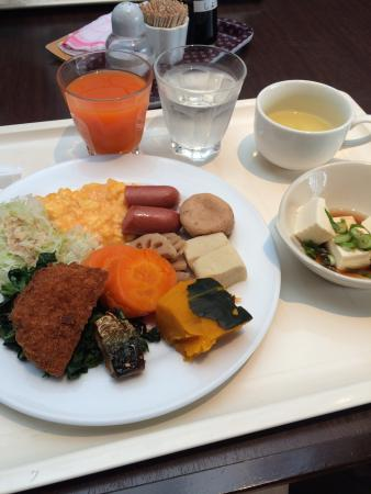 Green - Hotel Morris : Good breakfast buffet for 500 yen