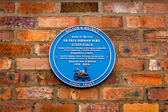 Bolton, UK: Blue Plaque