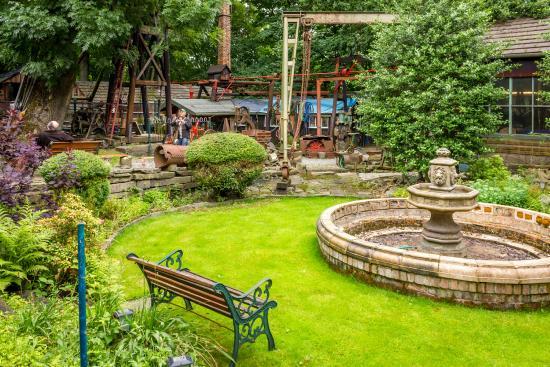 Bolton, UK: Garden & Pithead