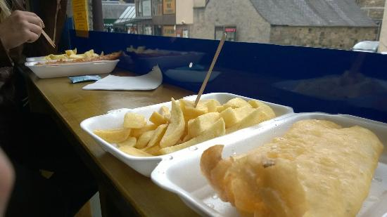 The Plaice to Be: GF fish & chips (with GF vinegar & sustainable fish = AMAZING)