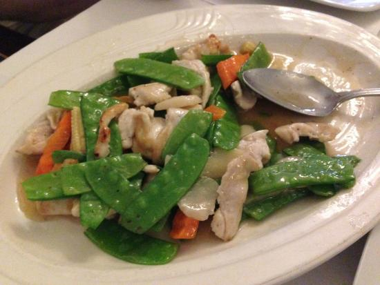 Wausau, WI: Chicken with Snow Peas