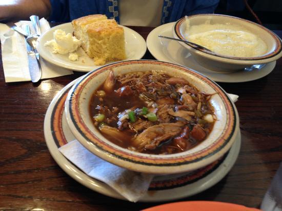 Jambalaya Corn Bread And Grits Picture Of Cajun Kitchen