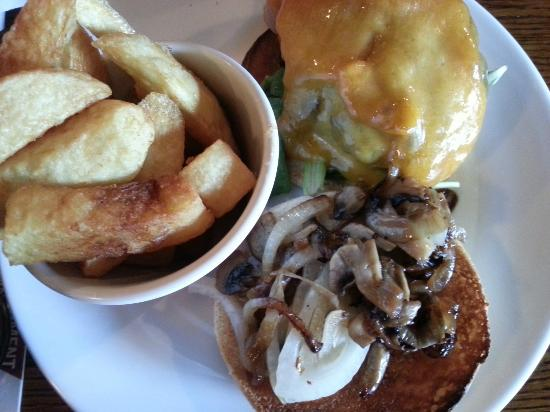 The Quays: Beef Burger