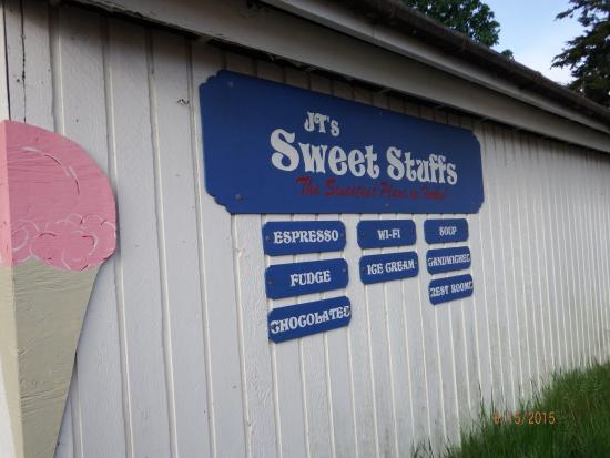 JT's Sweet Stuffs : sister building next door offers lots of candy