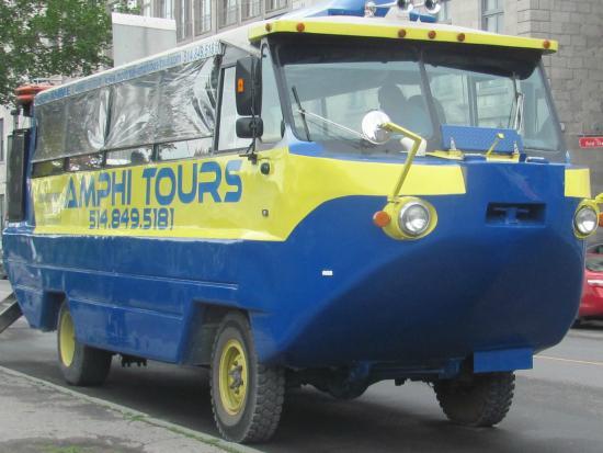 v hicule amphibie photo de montreal amphi bus tour montr al tripadvisor. Black Bedroom Furniture Sets. Home Design Ideas