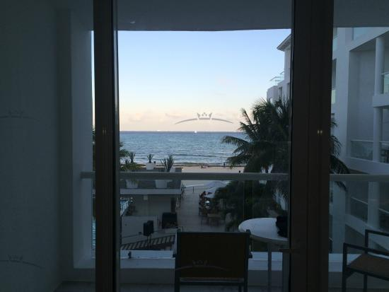 Playacar Palace: View from room 332
