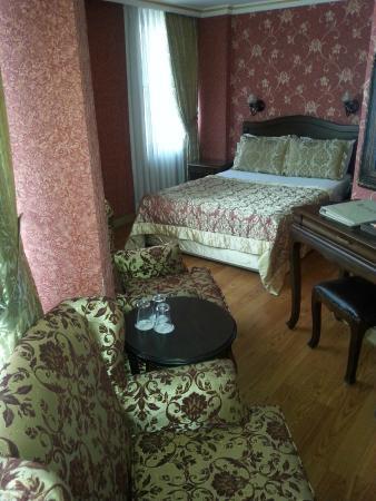 Assos Hotel Istanbul : Bedroom