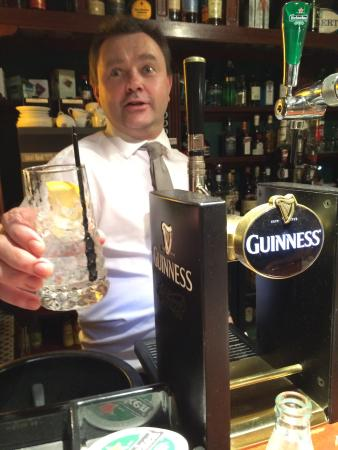 Gin and Tonic made with love by Dinny @ An Sugan Bar and Restaurant in Clonakilty