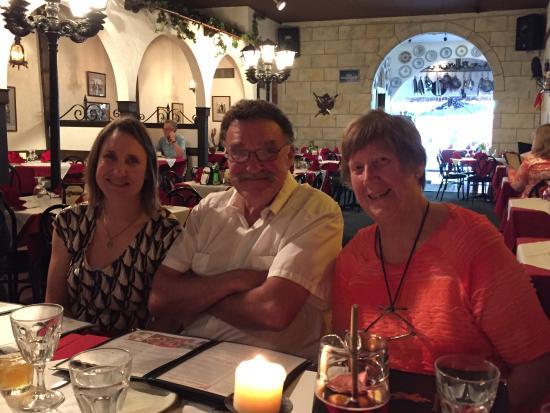 Restaurante don Quijote: Part of the fun evening