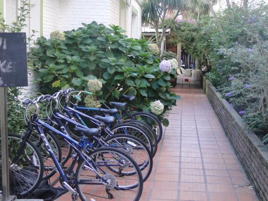 TAS D VIAJE Hostel - Surfcamp - Suites : Área externa