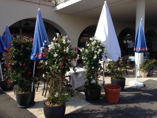 Coppet, Suiza: La terrasse