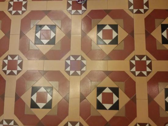 California State Capitol and Museum: Secret tile