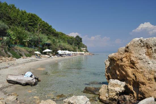 Afitos, اليونان: παραλία Άφυτος