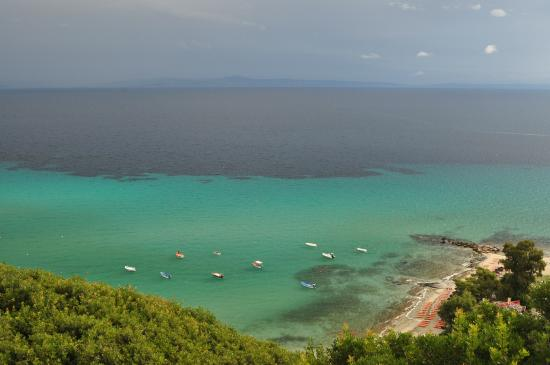 Afitos, Grécia: παραλία Άφυτος