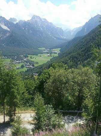 Panorama dalla Para verso il fondo della Val Marebbe