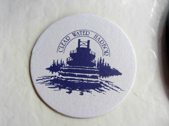 Clear Water Harbor: Coasters are even cool