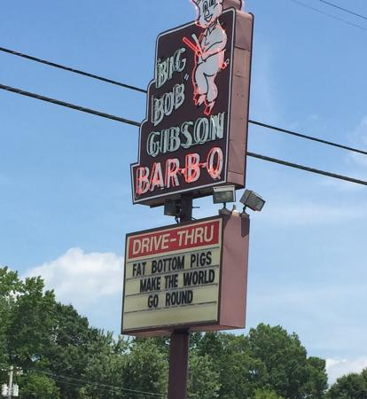 ... Brisket - Picture of Big Bob Gibson's Bar-B-Que, Decatur - TripAdvisor