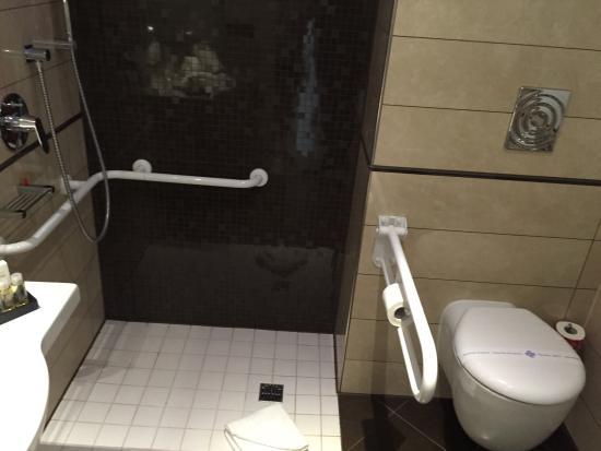 Bagno per disabili non richiesto foto di mercure viareggio