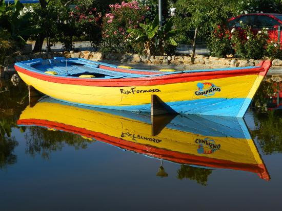 Parque Campismo Ria Formosa: lago no parque campismo