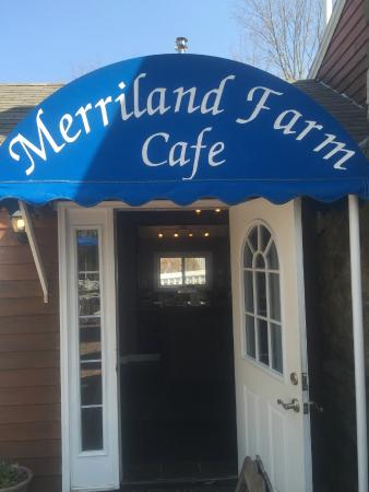 Merriland Farm Cafe: The Restaurant Entrance