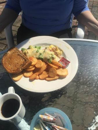 Merriland Farm Cafe: Green Eggs & Ham