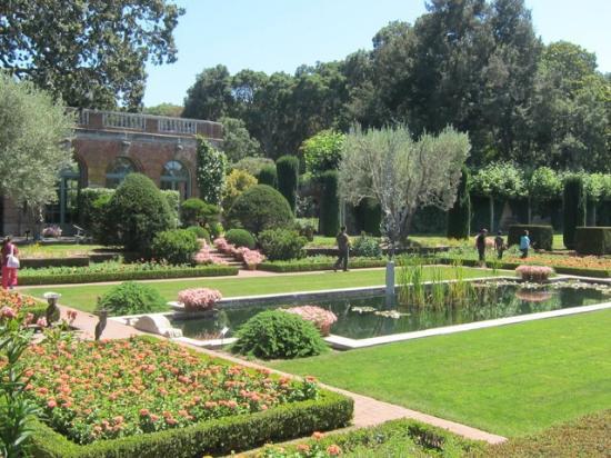 Looking across the Sunken Garden toward the Garden House. - Picture ...