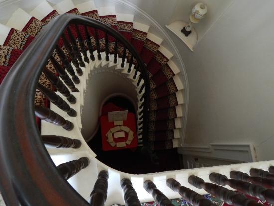 Rock County Historical Society: Spiral staircase