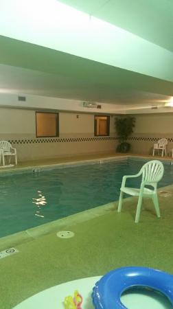 Country Inn & Suites By Carlson, Tinley Park: Pool lights out.
