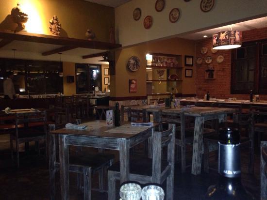 Pomodoro Cafe: Ambiente do restaurante