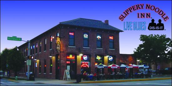 Slippery Noodle Inn: Building