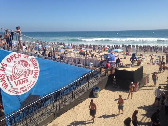 9f56db616b Vans U.S. Open of Surfing. - Picture of Huntington Beach Pier ...