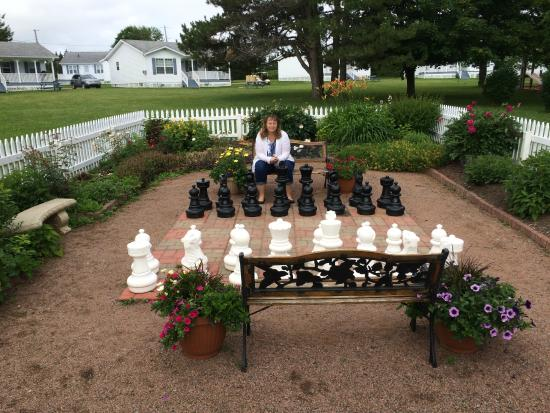 Chess arena - Picture of Kindred Spirits Inn & Cottages, Cavendish