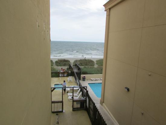 Atlantic Paradise Inn Suites End Of My Balcony View