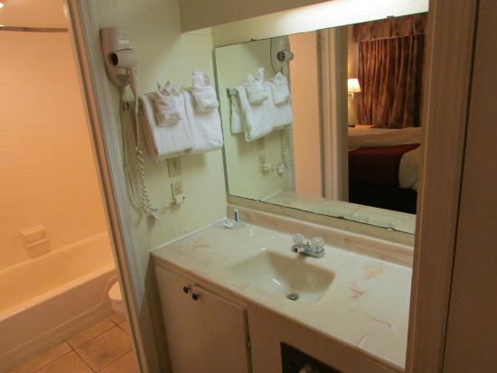 Vanity Area Picture Of Atlantic Paradise Inn Amp Suites