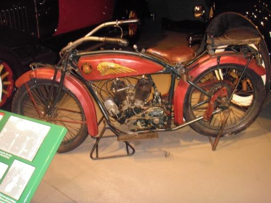 Reynolds-Alberta Museum: 1920 Indian Head Motorcycle