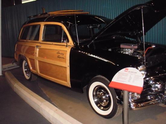 Reynolds-Alberta Museum: 1951 Country Squire Driven in the Peace River country