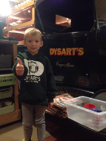 Dysart's Restaurant: It's a family place.  My kid loves the trucks!!