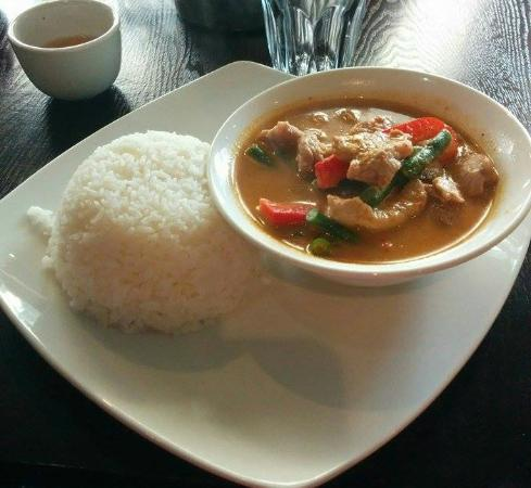 Rice Tapas: Penang Curry with Pork