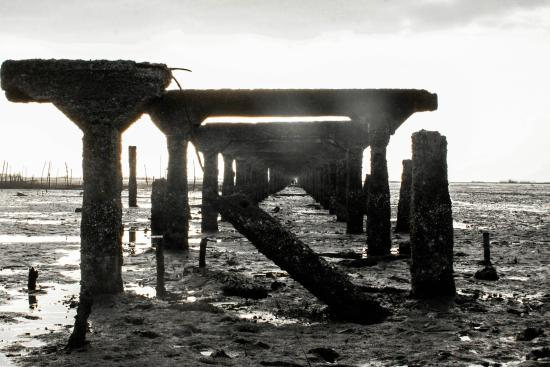ruins of the silay port スィレイ the old port of silay cityの写真